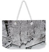 The Hundred Steps In The Snow Weekender Tote Bag
