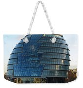 The Imposing Glass Greater London Mayoral Building On The Banks Of The Thames Weekender Tote Bag