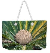 The Inside Of A Fern With The Large Flower In The Middle Weekender Tote Bag