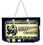 The Invigorator Weekender Tote Bag