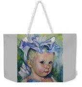 The Iris Princess Weekender Tote Bag