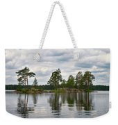 The Island In The Middle Weekender Tote Bag