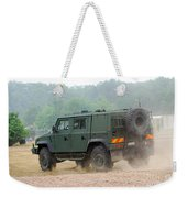 The Iveco Light Multirole Vehicle Weekender Tote Bag
