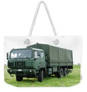 The Iveco M250 Used By The Belgian Army Weekender Tote Bag