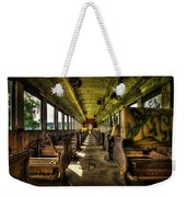 The Journey Ends Weekender Tote Bag