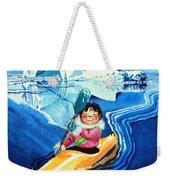 The Kayak Racer 13 Weekender Tote Bag by Hanne Lore Koehler