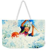 The Kayak Racer 16 Weekender Tote Bag by Hanne Lore Koehler