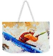 The Kayak Racer 17 Weekender Tote Bag by Hanne Lore Koehler