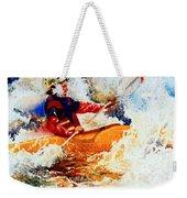 The Kayak Racer 19 Weekender Tote Bag