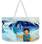 The Kayak Racer 5 Weekender Tote Bag