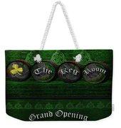 The Keg Room Grand Opening Version 3 Weekender Tote Bag