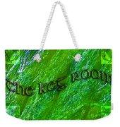 The Keg Room With Harps Weekender Tote Bag