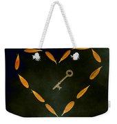 The Key To My Heart Weekender Tote Bag