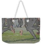 The Kick Off Digital Art Weekender Tote Bag
