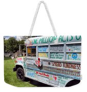 The Kindness Bus 1 Weekender Tote Bag