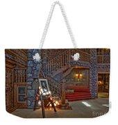 The King's Living Room Weekender Tote Bag by Susan Candelario