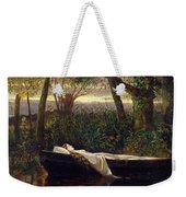 The Lady Of Shalott Weekender Tote Bag