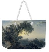 The Lake Of Albano And Castle Gandolfo  Weekender Tote Bag