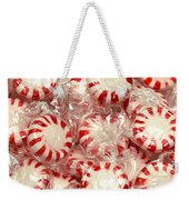 The Land Of Peppermint Candy Square Weekender Tote Bag