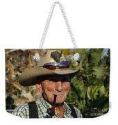 The Last Cowboy Of The West Weekender Tote Bag
