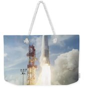 The Launch Of The Mercury-atlas 4 Weekender Tote Bag