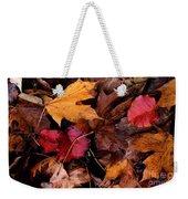 The Leaves Weekender Tote Bag