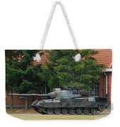 The Leopard 1a5 Main Battle Tank In Use Weekender Tote Bag by Luc De Jaeger