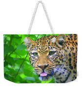 The Leopard's Tongue Weekender Tote Bag