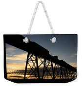 The Lethbridge Bridge Weekender Tote Bag