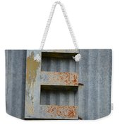 The Letter E Weekender Tote Bag
