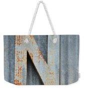 The Letter N Weekender Tote Bag