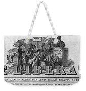 The Liberator Masthead Weekender Tote Bag