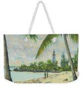 The Lighthouse - Zanzibar Weekender Tote Bag