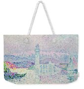 The Lighthouse At Antibes Weekender Tote Bag by Paul Signac