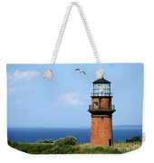 The Lighthouse On Martha's Vineyard Weekender Tote Bag