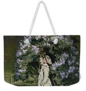 The Lilac Bush Weekender Tote Bag