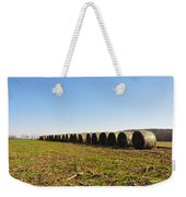 The Line Up Weekender Tote Bag by Bill Cannon