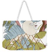 The Lion And The Mouse Weekender Tote Bag