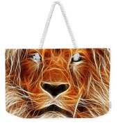 The Lion Sleeps Tonight Weekender Tote Bag