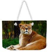 The Lioness Weekender Tote Bag
