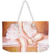 The Little Ballerina Weekender Tote Bag