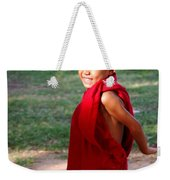 The Little Monk Of Mingun Weekender Tote Bag by RicardMN Photography