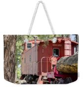 The Little Red Caboose Weekender Tote Bag