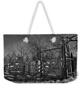 The Loading Pen Weekender Tote Bag by Ron Cline