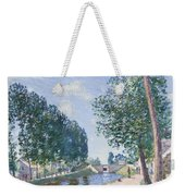 The Loing Canal At Moiret Weekender Tote Bag