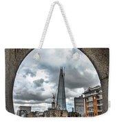 The London Shard Weekender Tote Bag