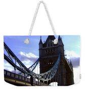 The London Tower Bridge Weekender Tote Bag