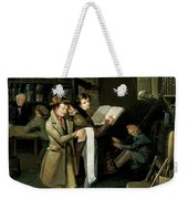 The Long Bill Weekender Tote Bag