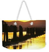 The Lost River Of Gold Weekender Tote Bag