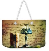 The Love Letter Weekender Tote Bag